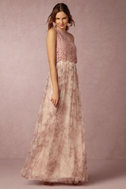 Jenny Yoo Lavender Multi Louise Tulle Skirt Bhldn