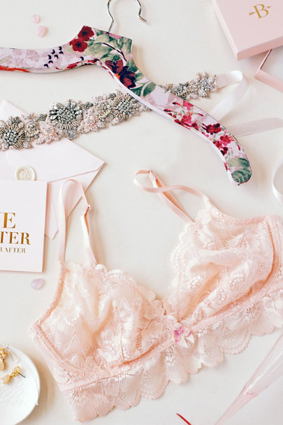 Camilla Christine Blush At First Blush Sash  | BHLDN