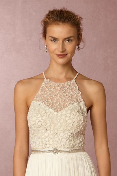 Watters Ivory Ashlyn Top | BHLDN