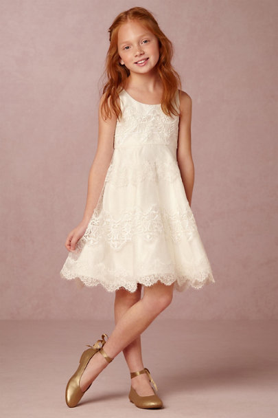 La Francy Couture Ivory Bebe Dress | BHLDN