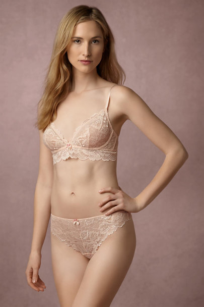 Blush Rose Seaside Lace Thong | BHLDN