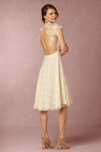 Sau Cream Aaliyah Dress | BHLDN