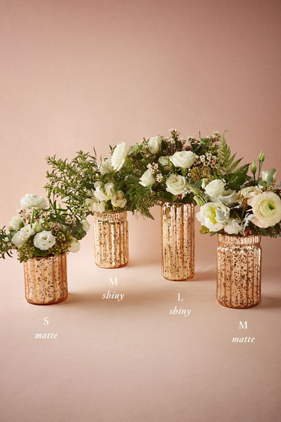 View larger image of Blushed Mercury Vases