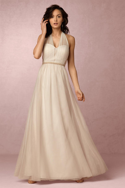 Jenny Yoo Ivory/Nude Annabelle Dress | BHLDN