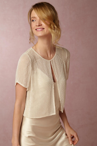 Ivory Winnie Jacket | BHLDN