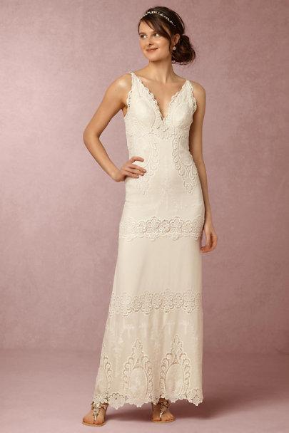 eebed2bae045 Catherine Deane Ivory/Champagne Alexa Dress | BHLDN ...