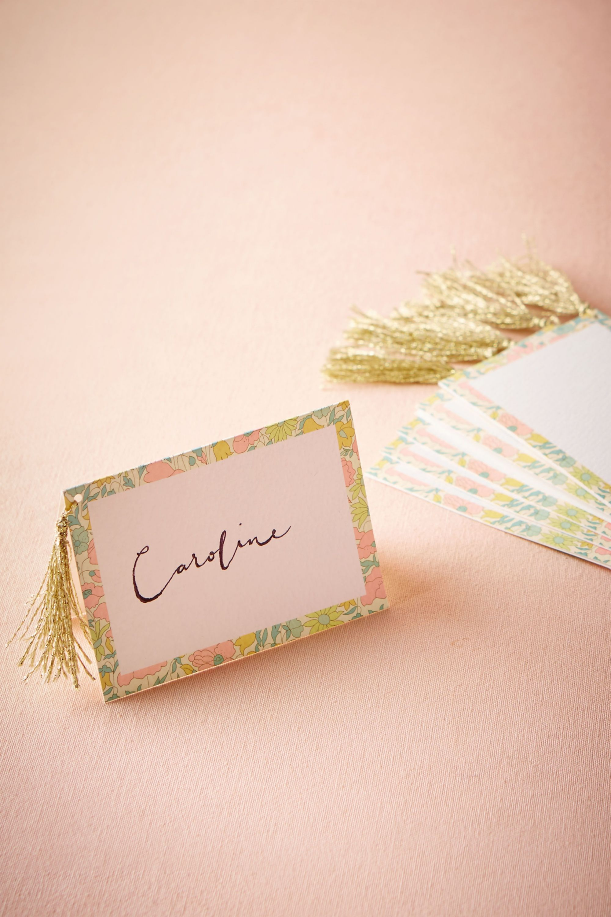 Liberty London Place Cards 10 in Sale BHLDN
