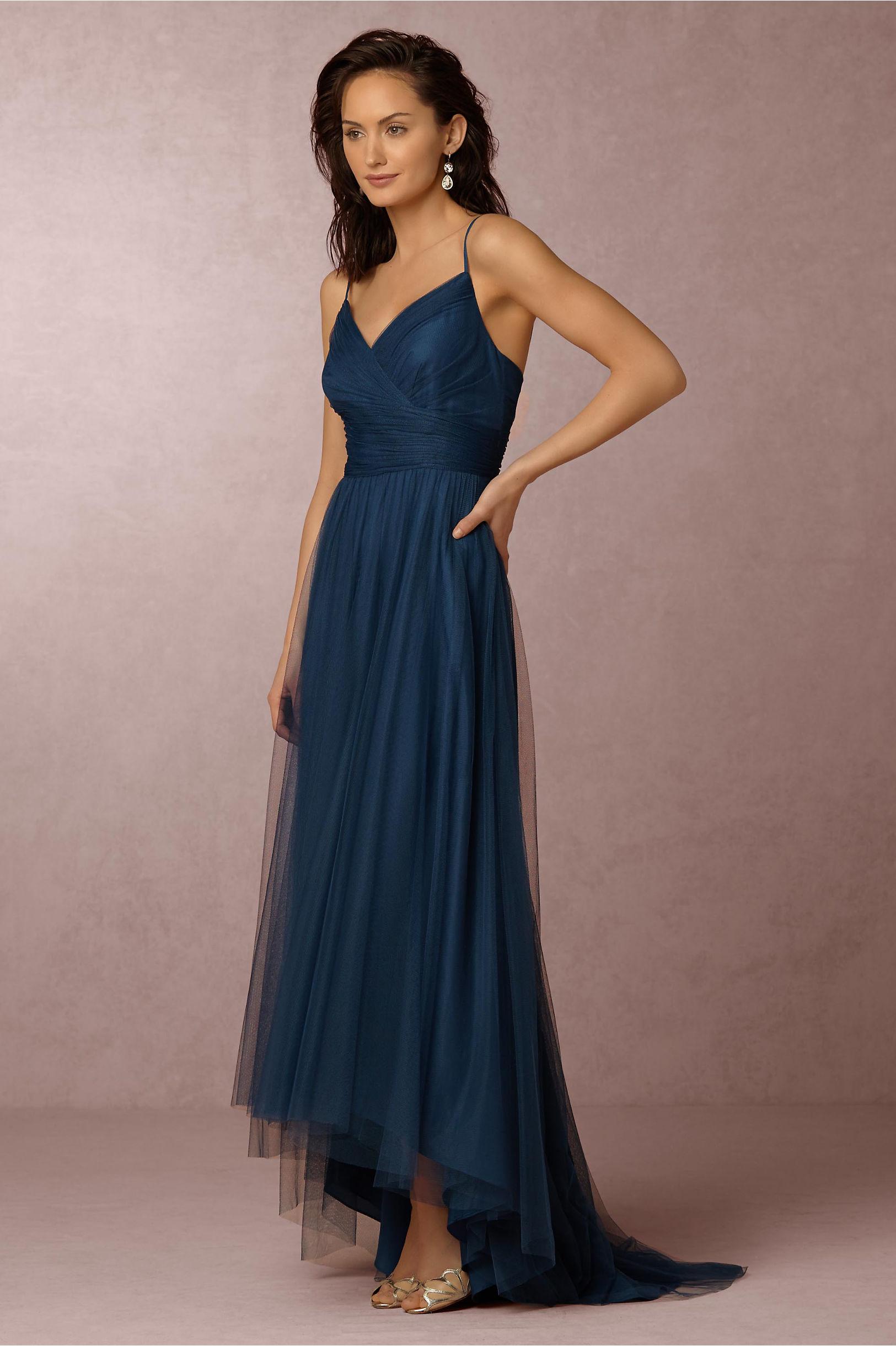 Brinkley dress in bridal party bhldn monique lhuillier bridesmaids lapis brinkley dress bhldn ombrellifo Images
