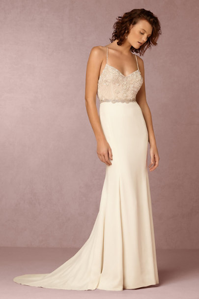 Watters Ivory Irene Gown | BHLDN