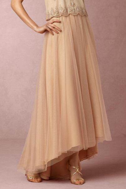 1193d560667 Monique Lhuillier Bridesmaids Bamboo Petal Skirt