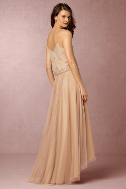 Monique Lhuillier Bridesmaids Bamboo Petal Skirt | BHLDN