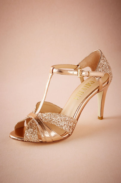 Billy Ella Rose Gold Billy Ella Lucia T-Straps | BHLDN