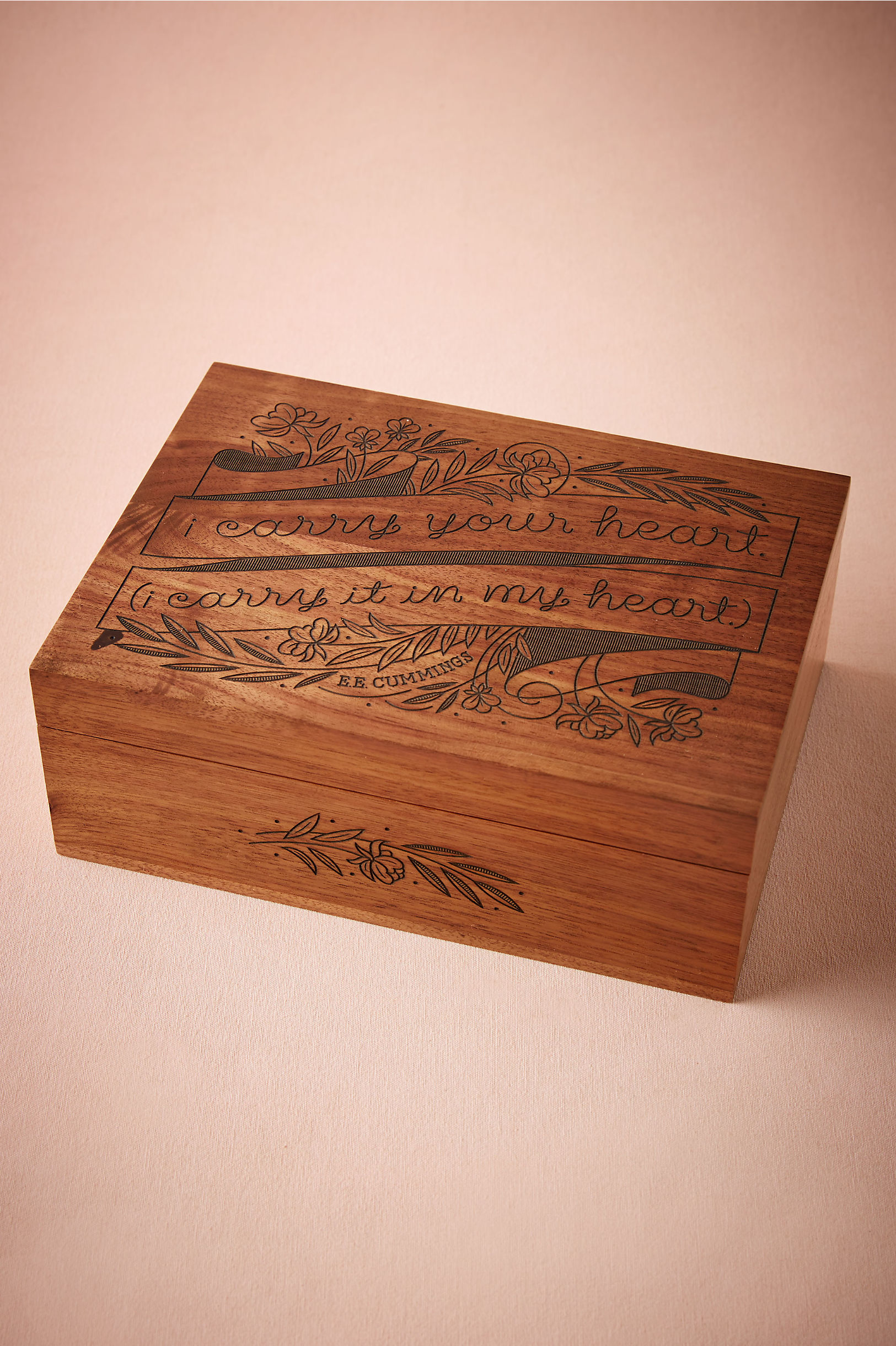 Etched Momento Box In Dcor Gifts Bhldn