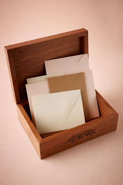 I Carry Your Heart Etched Momento Box | BHLDN