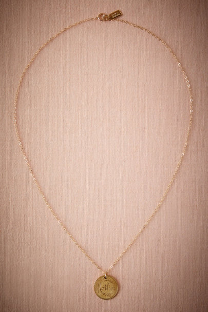 Bronze Mother Pendant Necklace | BHLDN