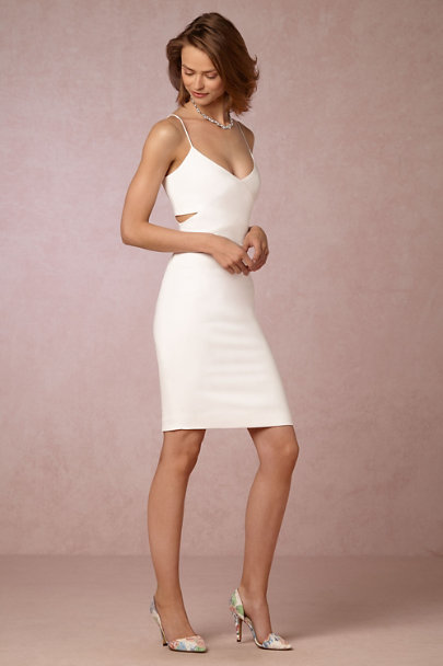 Badgley Mischka Light Ivory Ivana Dress | BHLDN