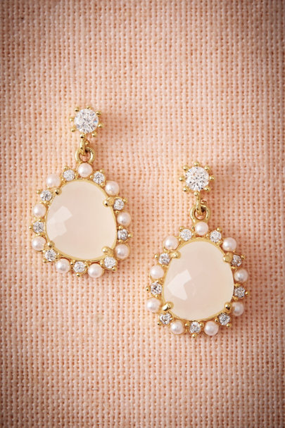 Gold Selene Earrings | BHLDN