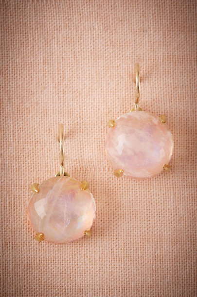 Heather Hawkins Gold Elisabeth Drop Earrings Bhldn