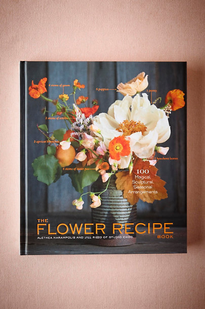Black The Flower Recipe Book | BHLDN