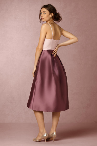Kay Unger Pink/Antique Orchid Romy Dress | BHLDN