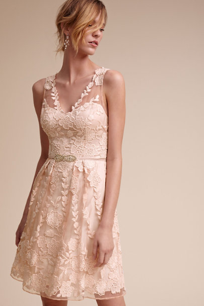 Elliott fitted belt in sale bhldn for Blush wedding dress for sale