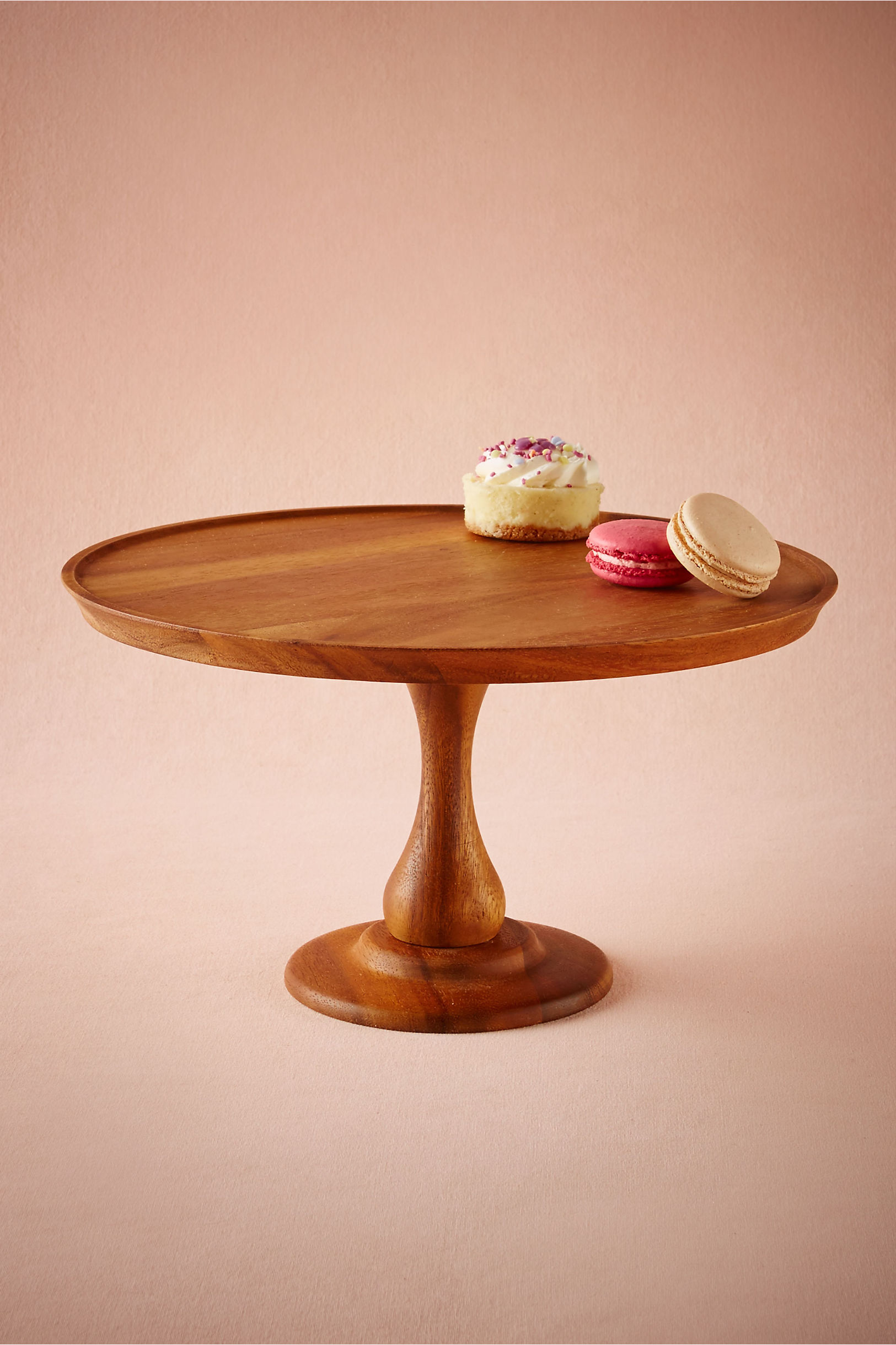 Brown Walden Cake Stand Bhldn