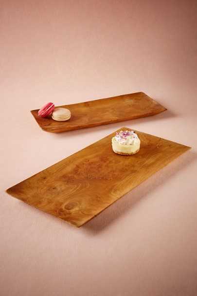 Brown Walden Trays (2) | BHLDN