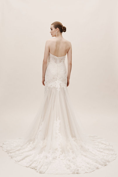 Dreams by Eddy K Ivory/Cream Leigh Gown | BHLDN