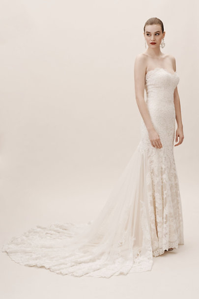 Eddy K Ivory/Cream Leigh Gown | BHLDN