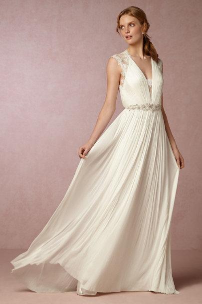 Catherine Deane Ivory Fantasia Gown Bhldn