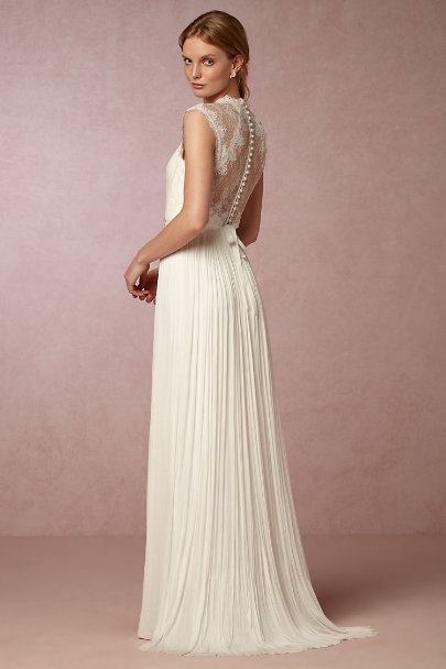 Catherine Deane Ivory Fantasia Gown | BHLDN