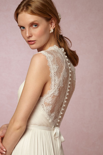 Catherine Deane Ivory Fantasia Gown Bhldn