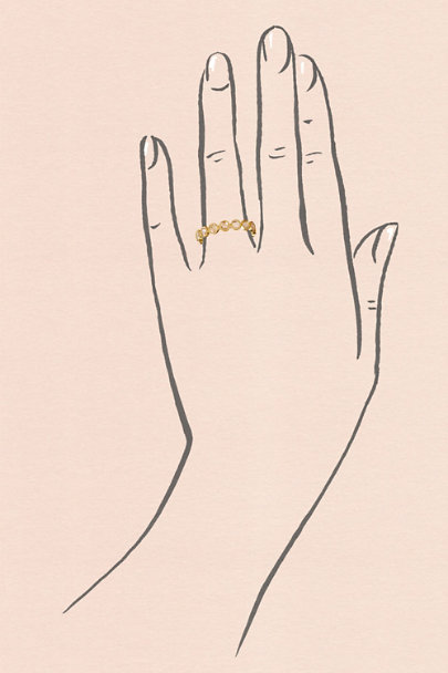 Yellow Gold Raja Ring | BHLDN