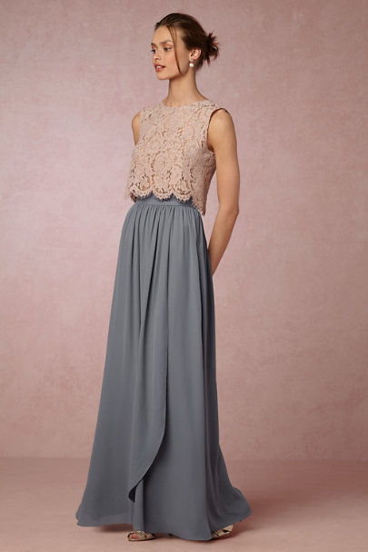 Hitherto Steel Jane Skirt | BHLDN