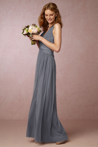 Hitherto Steel Edith Dress | BHLDN