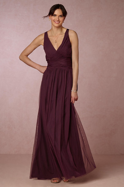 Hitherto Deep Amethyst Edith Dress | BHLDN