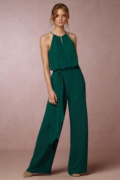 Donna Morgan Emerald Jackie Jumpsuit Bhldn
