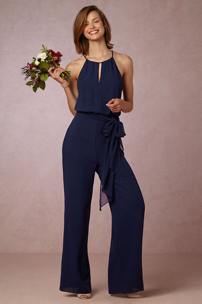 Donna Morgan Midnight Jackie Jumpsuit | BHLDN