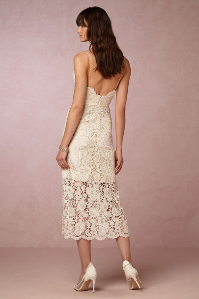 Catherine Deane Champagne Halo Dress | BHLDN