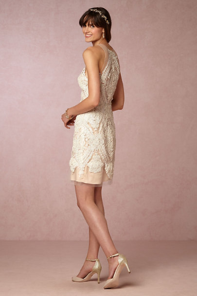 Watters Ivory Loretta Shift Dress | BHLDN