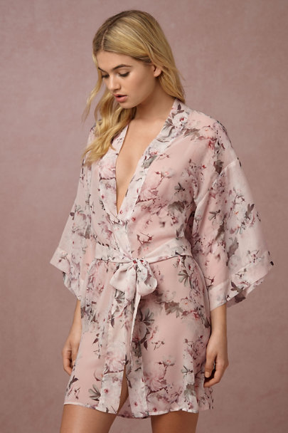 Flora Nikrooz Rose Leonia Robe | BHLDN