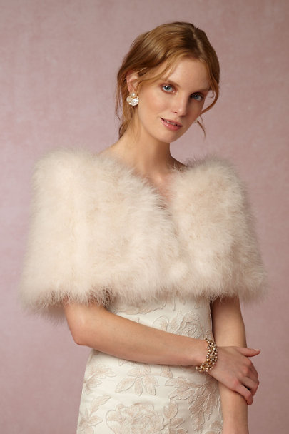 Annabelle NYC Blush Antoinette Wrap | BHLDN