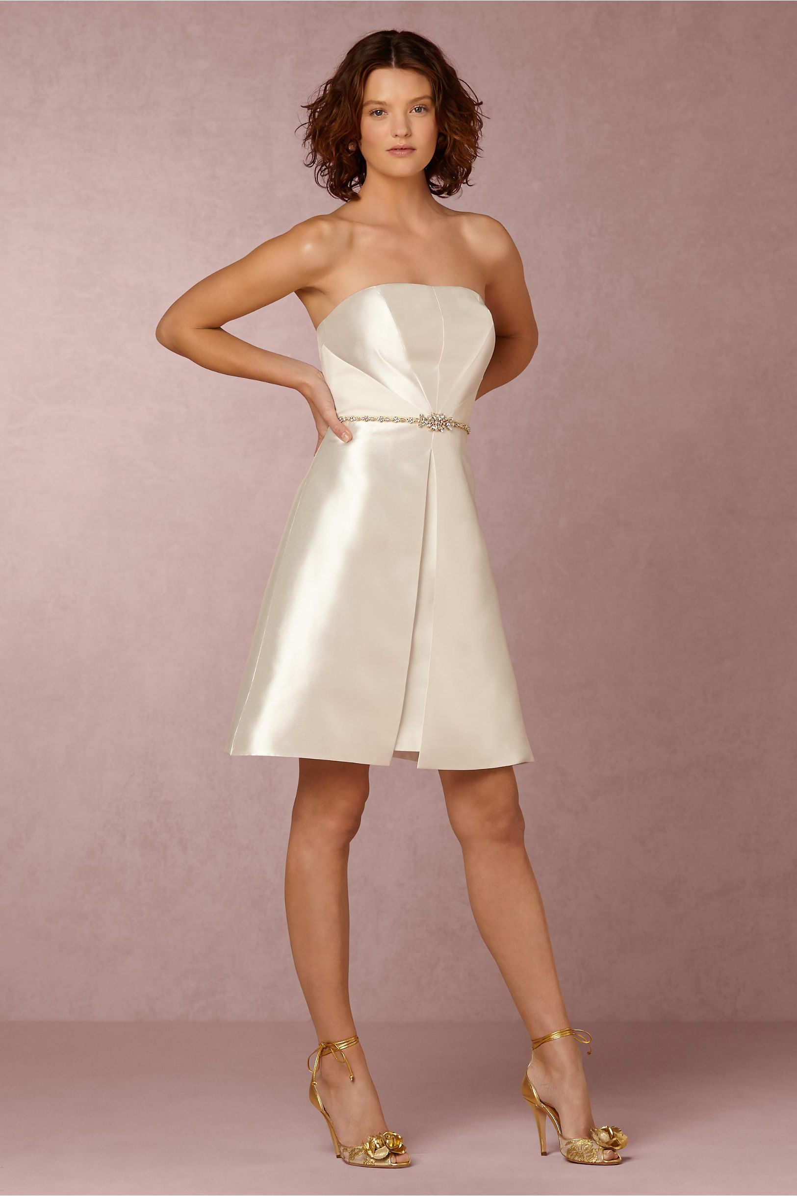 Lux Dress in Bride | BHLDN
