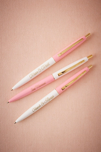 Pink Nuptials Pen (3) | BHLDN