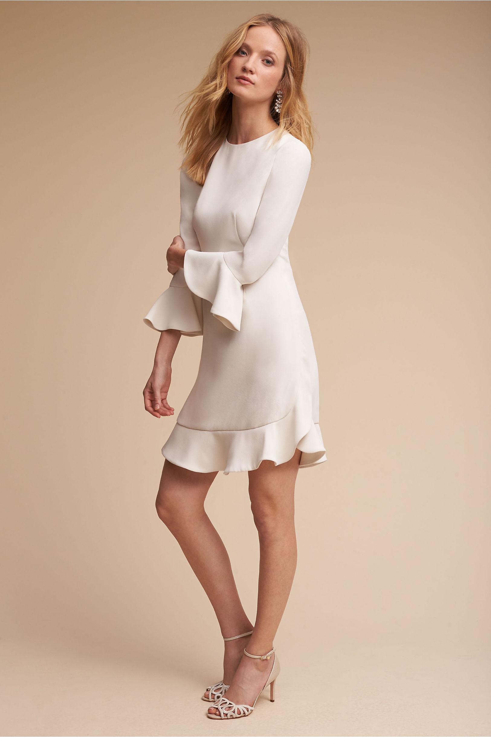 Jill Jill Stuart Ruffle Hem Dress Perfect Cheap Perfect Fast Express Exclusive Cheap Online Pay With Paypal For Sale RAktCJ0