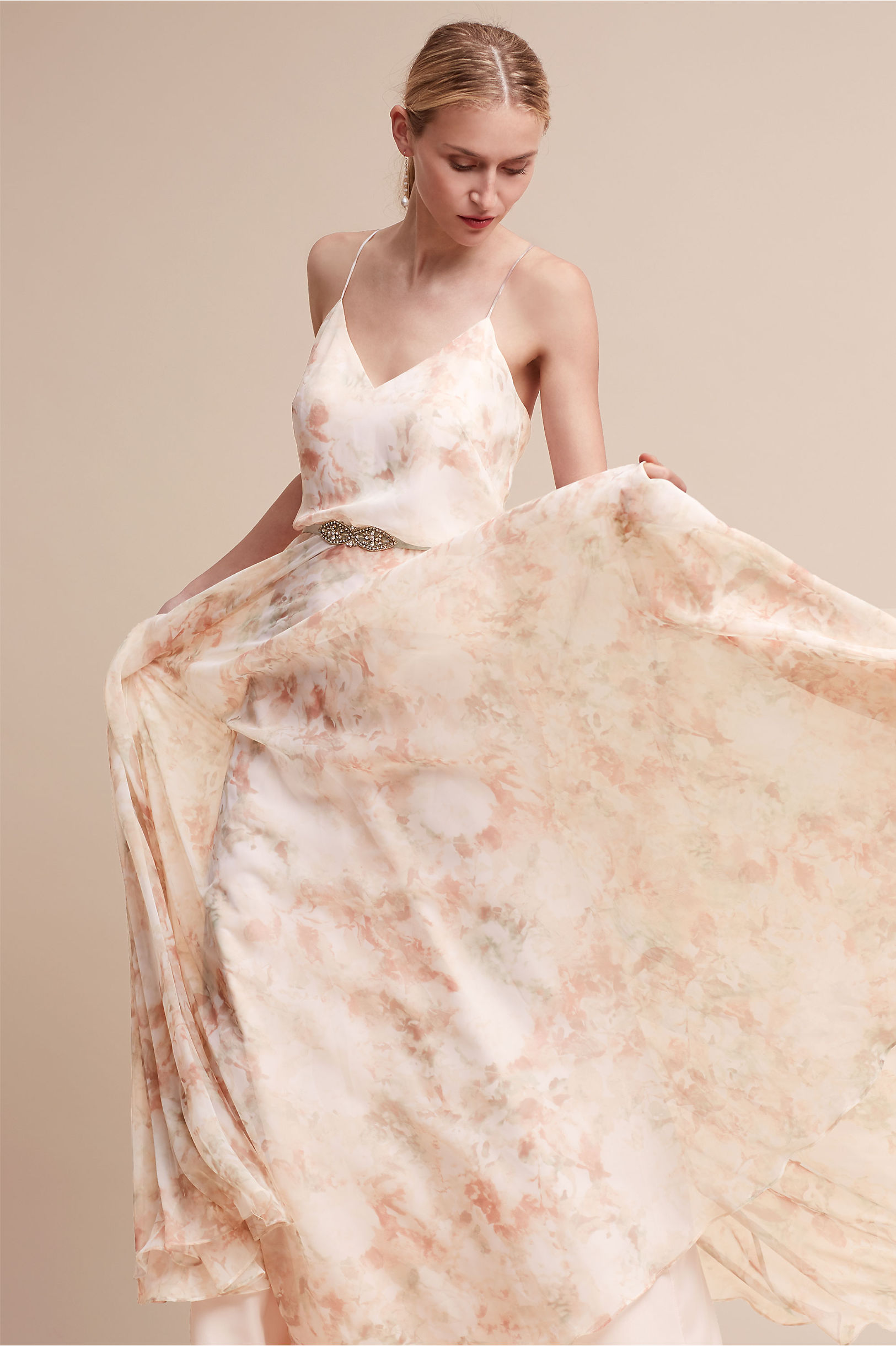 Inesse dress blush multi in sale bhldn blush multi inesse dress bhldn ombrellifo Image collections