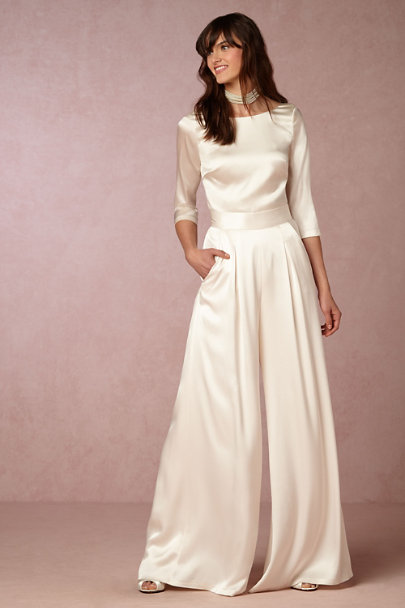 Catherine Deane Ivory Desiree Top | BHLDN