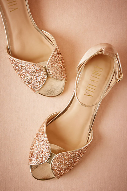 Billy Ella Champagne Billy Ella Jeni Flats | BHLDN