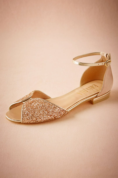 Billy Ella Champagne Jeni Flats | BHLDN