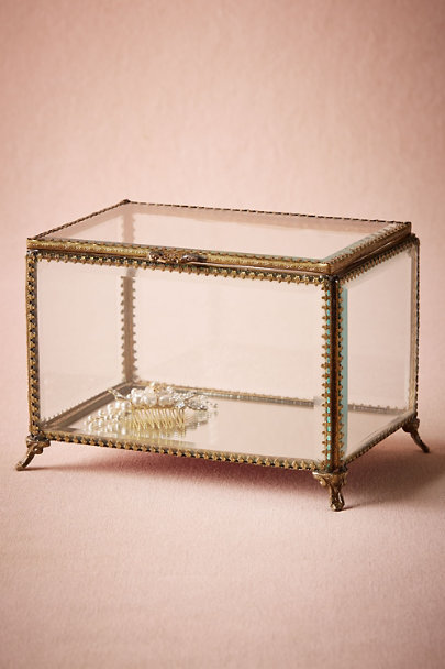 Bronze Antique Show Box | BHLDN